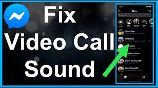 How To FIX Messenger Video Call Sound Problem! screenshot 1