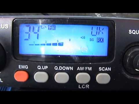 CB Radio CTX Station Corn Du South Wales 20/07/2014
