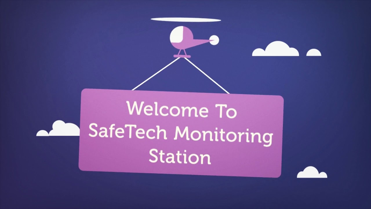SafeTech Home Security Monitoring Station in Toronto, Ontario
