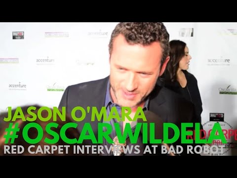 Jason O'Mara interviewed at the 12th Annual Oscar Wilde Awards #OscarWildeLA