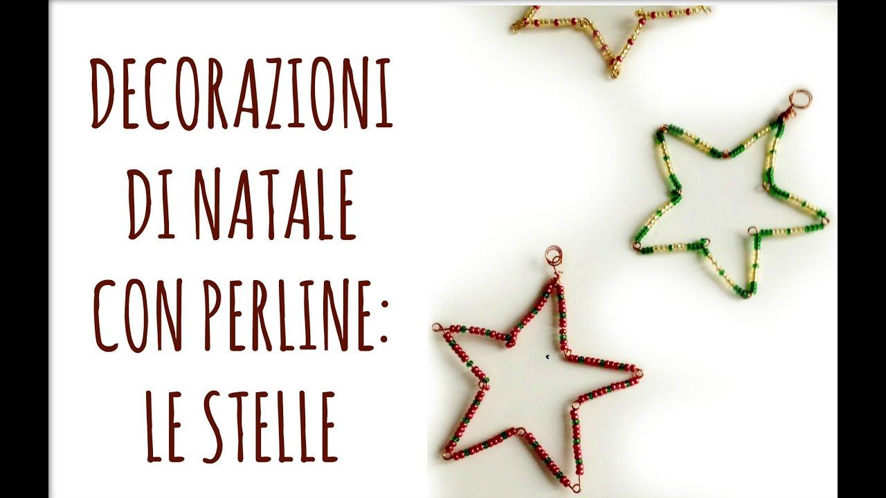 Decorazioni con perline le stelle vincitori giveaway - Decorazioni stelle di natale ...