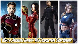 Lady Avengers: Infinity War Characters | What if Marvel Avengers: 3 Superheroes Swap Their Gender