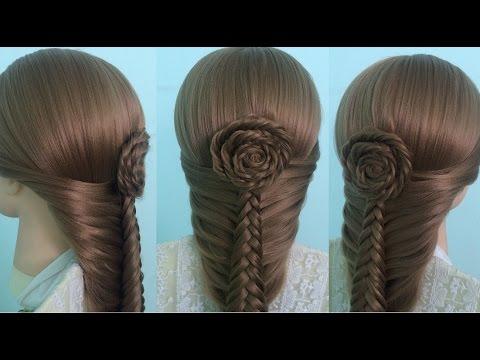 AnaTran - Cách tết tóc kiểu hoa hồng đi tiệc XINH