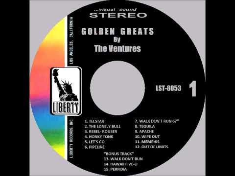 The Ventures Golden Greats (Full Album) 7. Walk Don't Run 67'' Stereo 1967