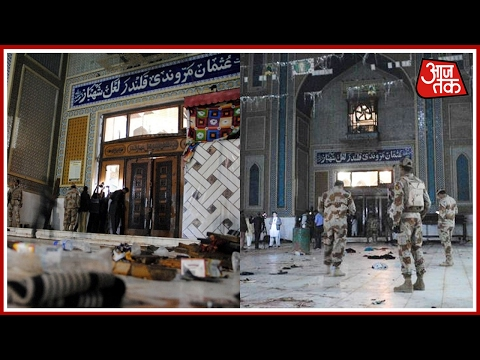 Blast Rips Through Shrine In Pakistan, 80 Dead