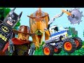 LEGO Animation for Kids (COMPILATIONS) STOP MOTION LEGO Superheroes, LEGO City & More   Billy Bricks