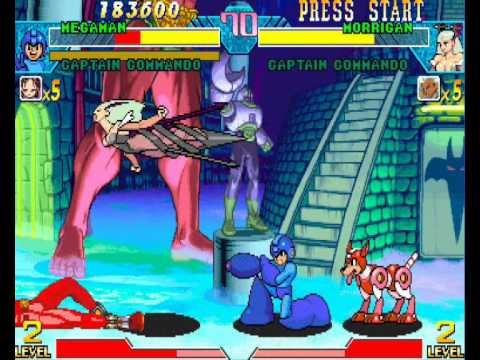 Play Marvel Vs Capcom Flash Game 119