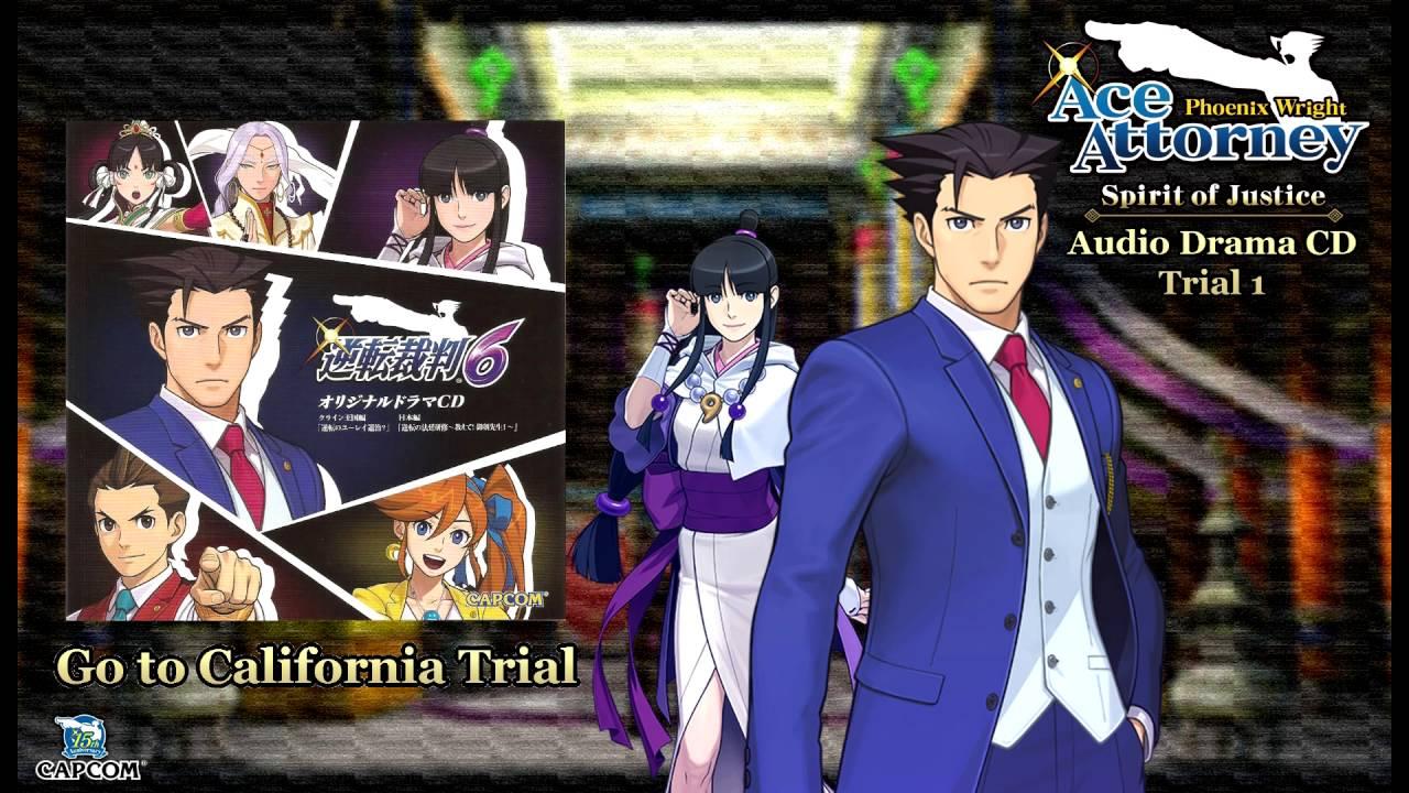 Phoenix Wright: Ace Attorney - Spirit of Justice (逆転裁判6) Japanese Audio  Drama CD