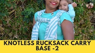 Knotless Ruck (Ruck Tied at Shoulder with Buleria Finish)