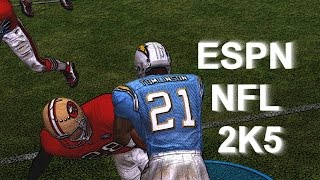ESPN NFL 2K5 GAMEPLAY: CHARGERS VS 49ERS
