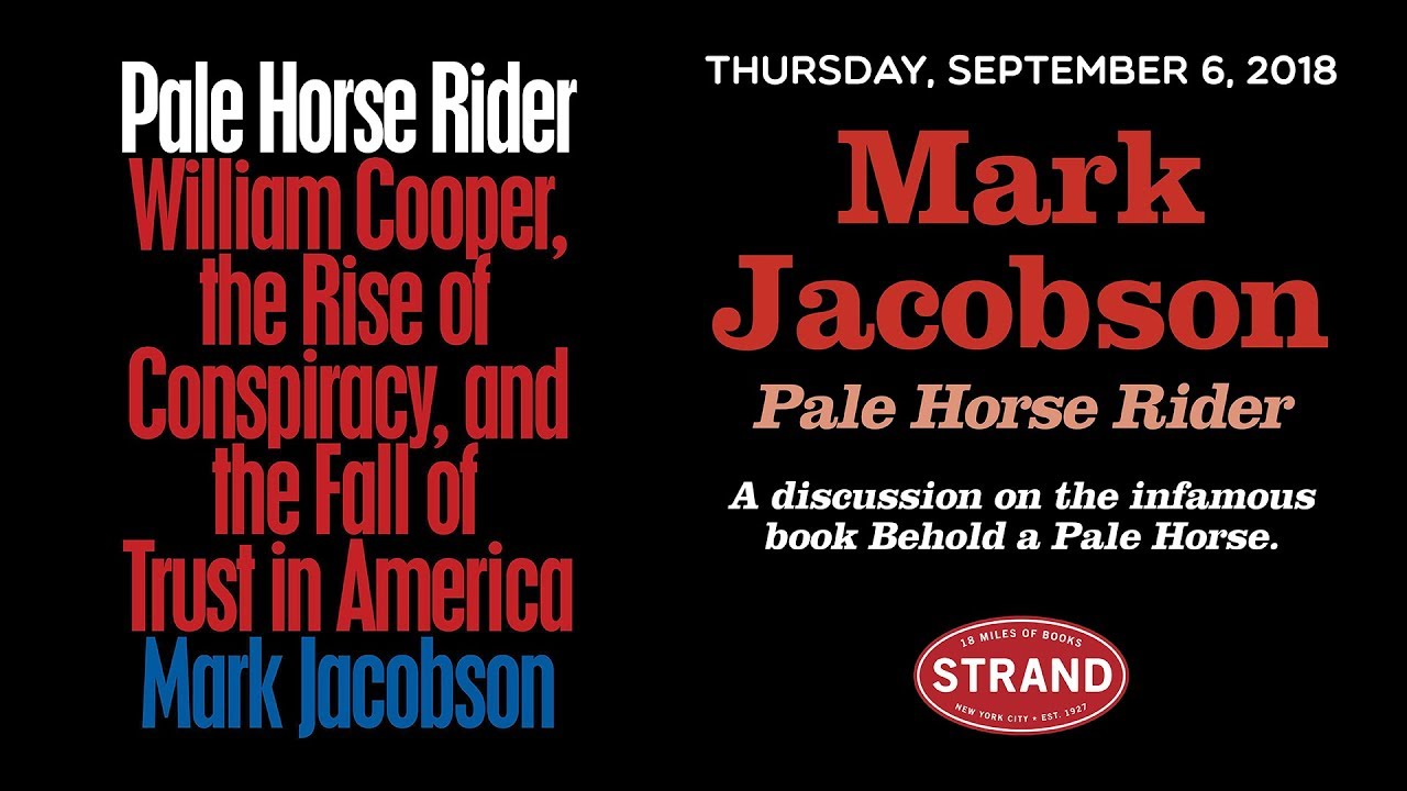 Mark Jacobson | Pale Horse Rider