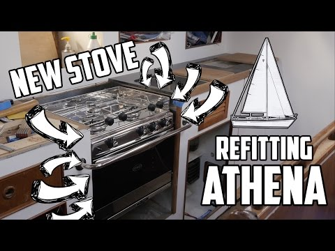 Sail Life - Eno Open Sea stove for the galley & prepping to rewire the AC - DIY sailboat refit