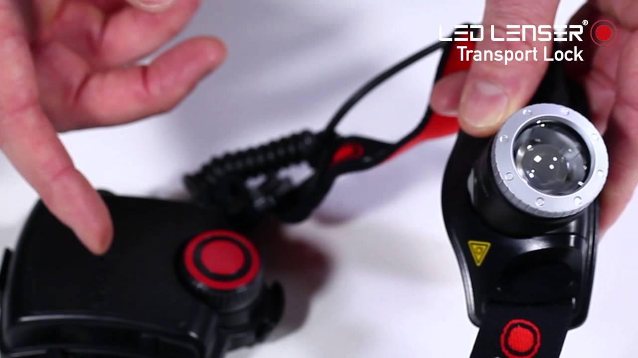 Helmlampe LEDLENSER H14R.2 Rechargeable Headlamp Clamshell Packaging Camping-Stirnlampen