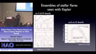 Rachel Osten | Space Telescope Science Institute | Stellar Flares: From Plasma Physics on Stars