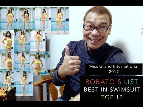 TOP 12!!! Best in Swimsuit Miss Grand International 2017.