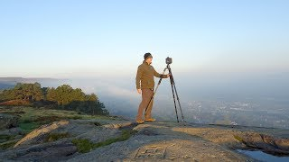 Landscape Photography on Ilkley Moor (with a Canon 1DX)