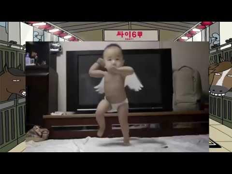 Em bé 2 tuổi nhảy Gangnam Style cực đỉnh cực đáng yêu
