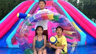 Giant Inflatable Water Wheel | Outdoor Playground for kids and Fun Activities