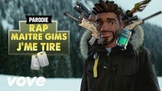 Maître Gims - J'me tire ( Nightcore parodie fortnite)