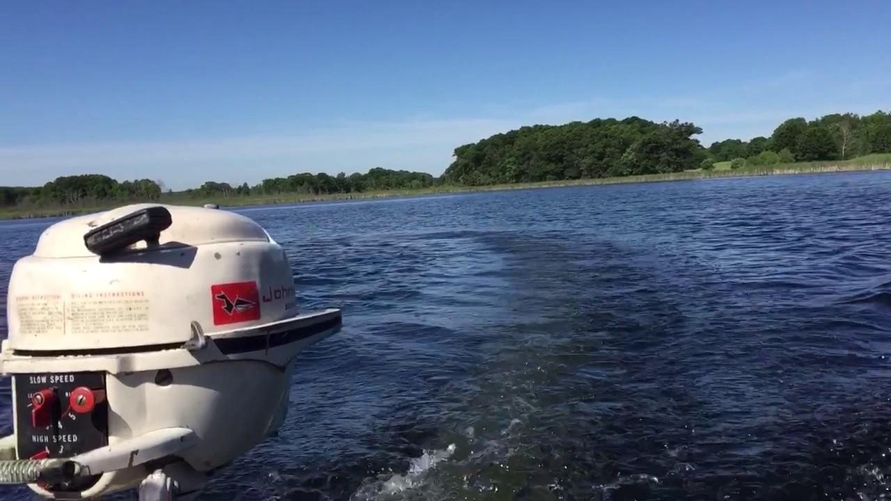 1959 johnson 3hp outboard motor doovi for Johnson marine italia