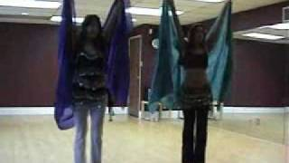www.bellydancingclasses.biz Path To Goa Veil Choreography