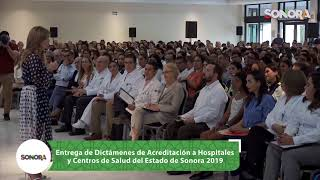 Entrega de Dictámenes de Acreditación a Hospitales y Centros de Salud