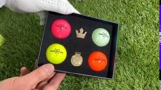 홀인원 3피스 컬러볼 선물세트 (스와로브스키 볼마커 포…