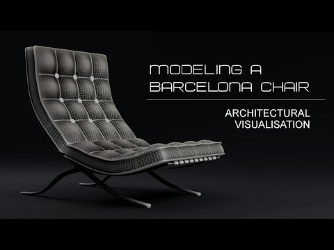 Blender Tutorial : Chair Modeling