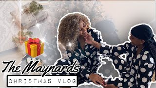 CHRISTMAS VLOG W THE MAYNARDS❄️