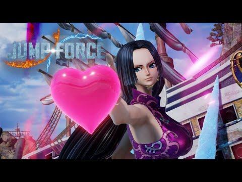 Jump Force Boa Hancock ❤ gameplay |
