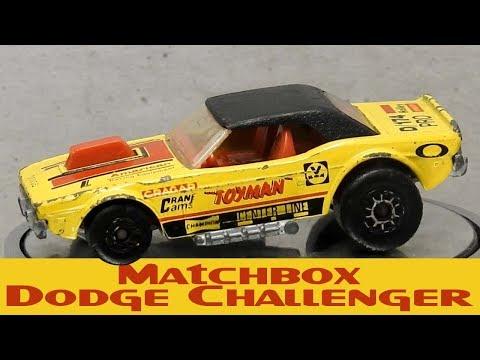Matchbox Dodge Challenger Custom Restoration