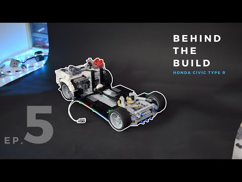 Behind The Build - Lego Honda Civic Type R /ep.5