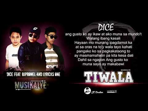 Tiwala - Dice , Bj Prowel and Lyricks One (Lyrics Video)