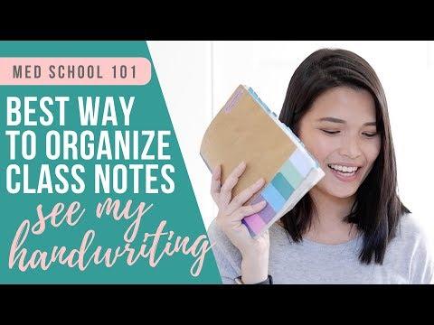 MY ACTUAL MED SCHOOL NOTES (Handwritten and Digital Notebook)