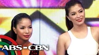 It's Showtime: Angel Locsin meets 'kalokalike'