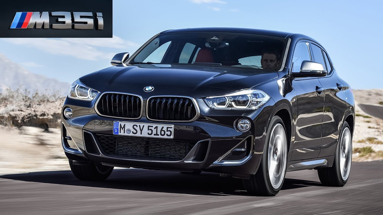 2019 bmw x2 m35i black sapphire metallic driving. Black Bedroom Furniture Sets. Home Design Ideas