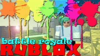 Roblox NEW Game | Arena Royale | Extreme Paintball! SallyGreenGamer Geegee92 Family Friendly