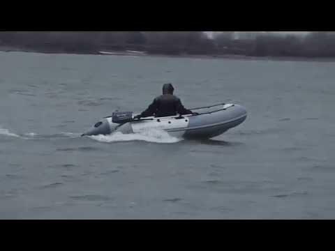 Надувная моторная лодка пвх с дном низкого давления Аквилон (Aquilon) 015