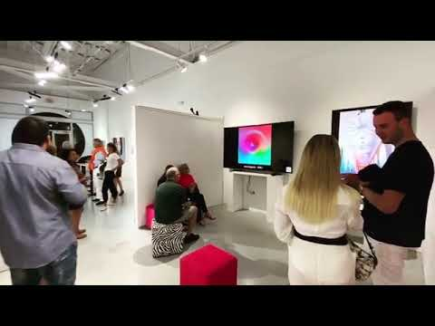 Art Basel Miami 2.0 Art Exhibition After Dark Party Dec 7, 2019 With Elaine-Kaitlyn Wong