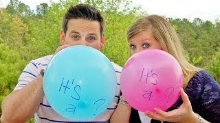 One of Cullen & Katie's most viewed videos: BEST GENDER REVEAL!!! - Journey to Baby
