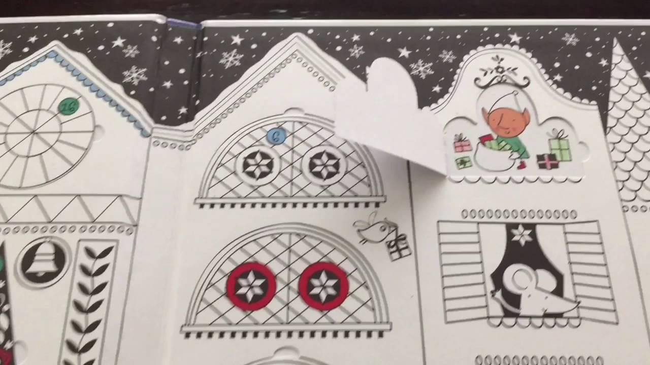 usbornes advent calendar to color