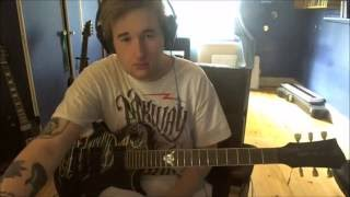 Drop dead gorgeous - The show must go on, Guitar cover (HD)