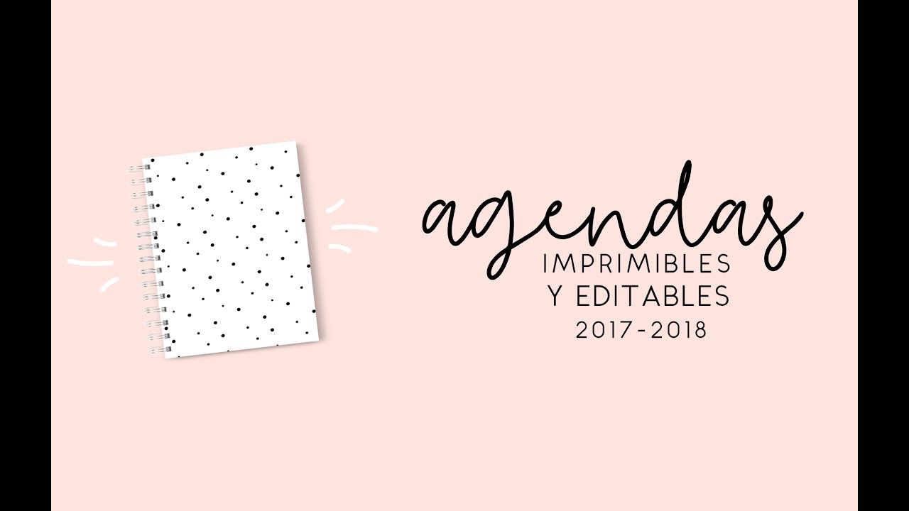 agendas 2018 gratis