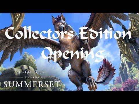 Elder Scrolls Online : Summerset Collectors Edition Opening |