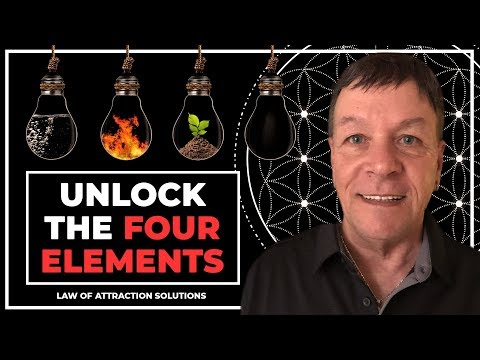 Unlock the Four Elements - Fire, Air, Water, Earth