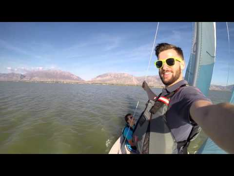 Raw Footage, Capri 14.2 on Utah Lake, 2015