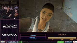 Half-Life 2 by waezone in 59:34 SGDQ2019