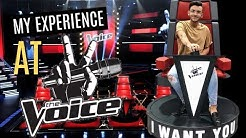 MY EXPERIENCE ON THE VOICE (what they dont show on TV)