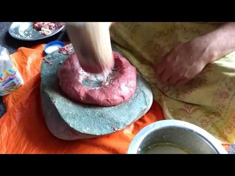 Part 1 - How to make Kashmiri Rista or Goshtaba, the Classical way...