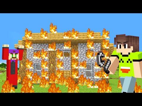 TAKING REVENGE In MINECRAFT! (Burning His House Down)
